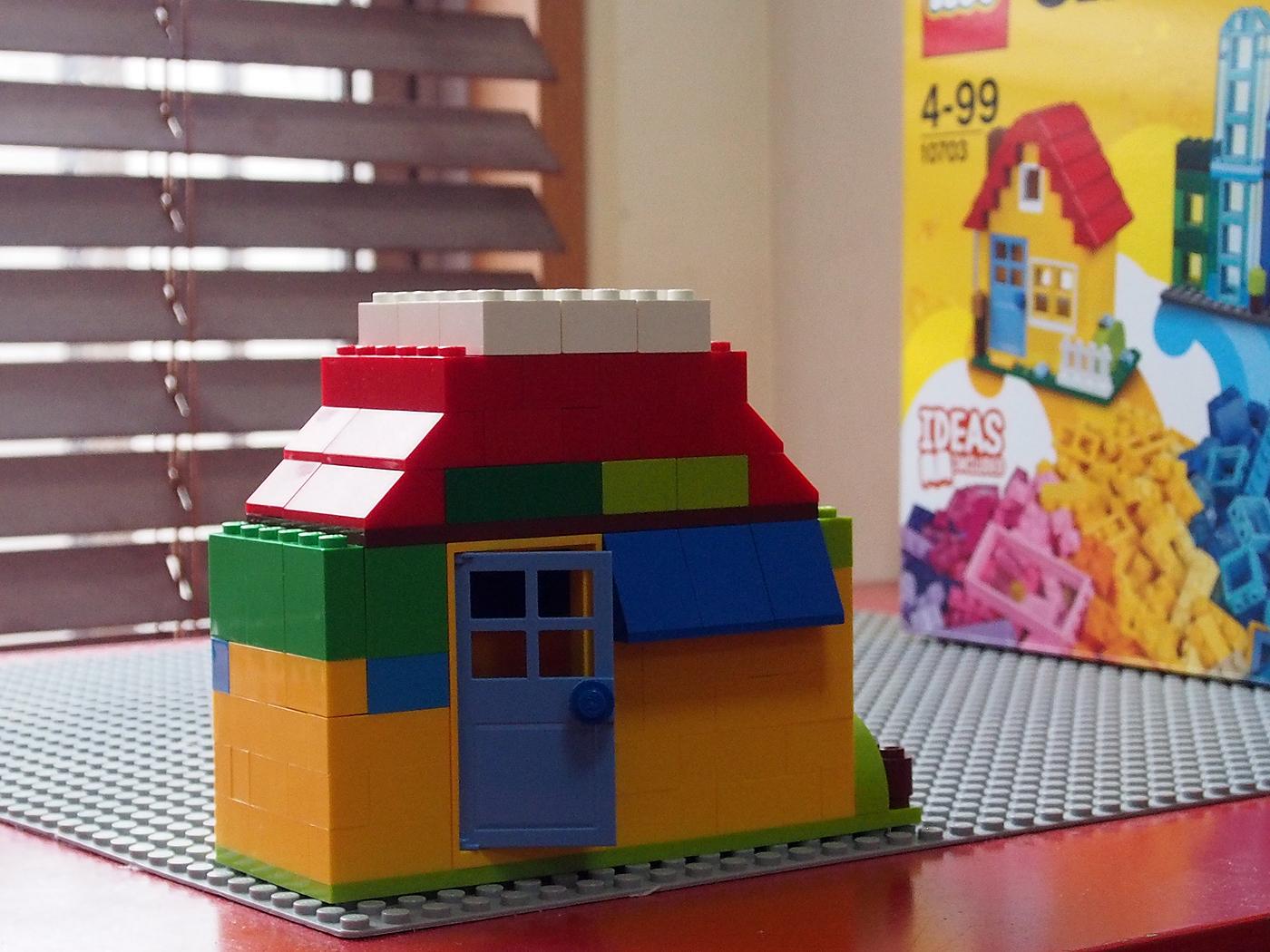 レゴ、基本ブロック、家