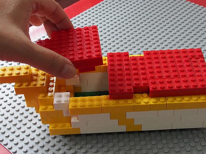 [レゴ]基本ブロックでつくる簡単クルーザー