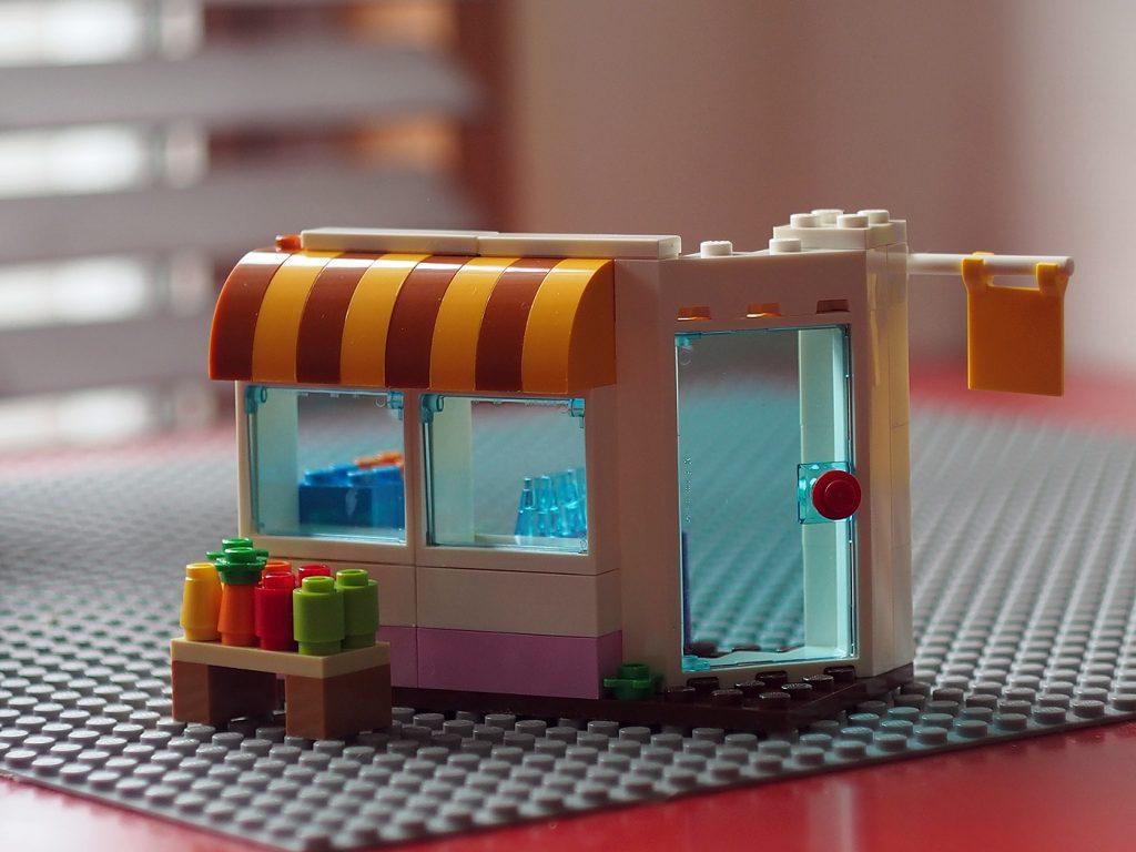 お店、レゴ クラシック