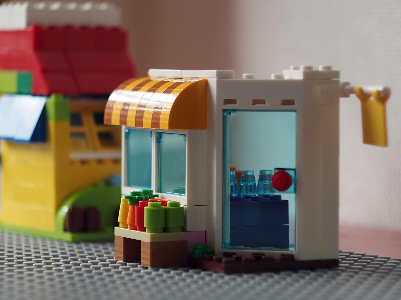 レゴ、基本ブロックの建物セット、お店