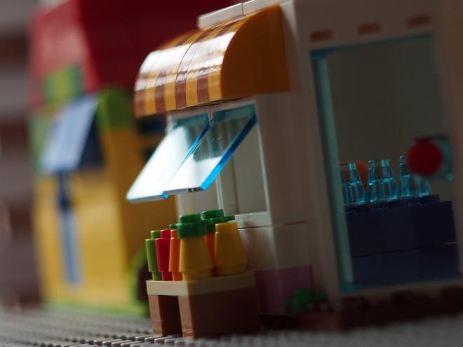 窓、レゴ、お店