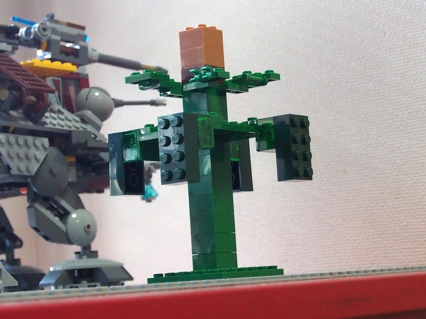 レゴ、マインクラフトで木