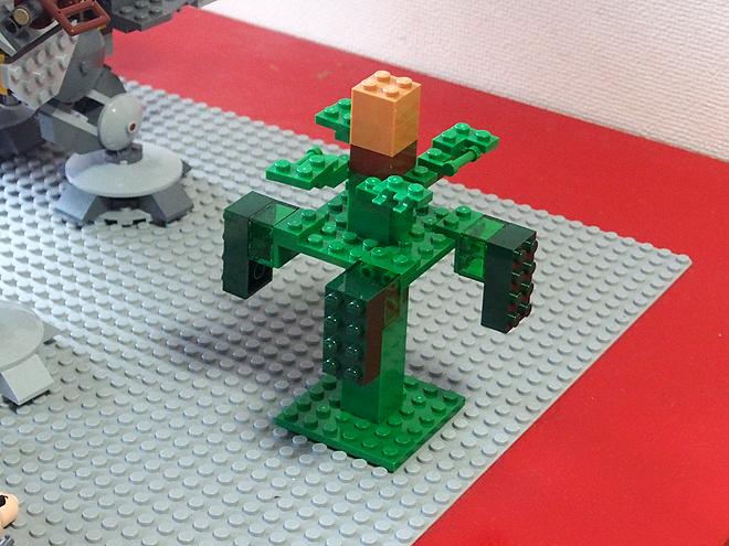 レゴ、マインクラフト、木