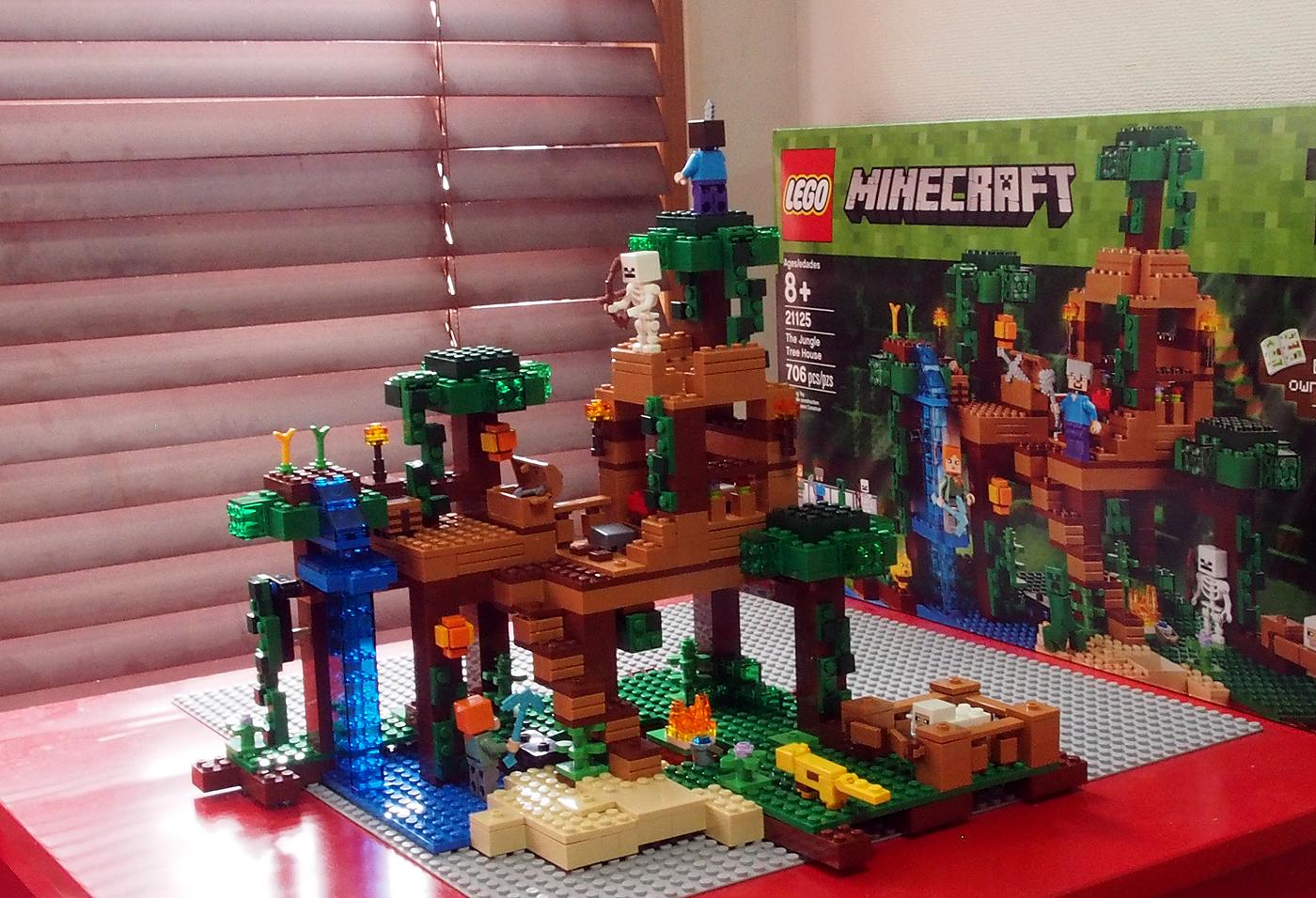 レゴ、マインクラフト21125