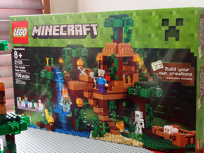 レゴ、マインクラフト21125、パッケージ