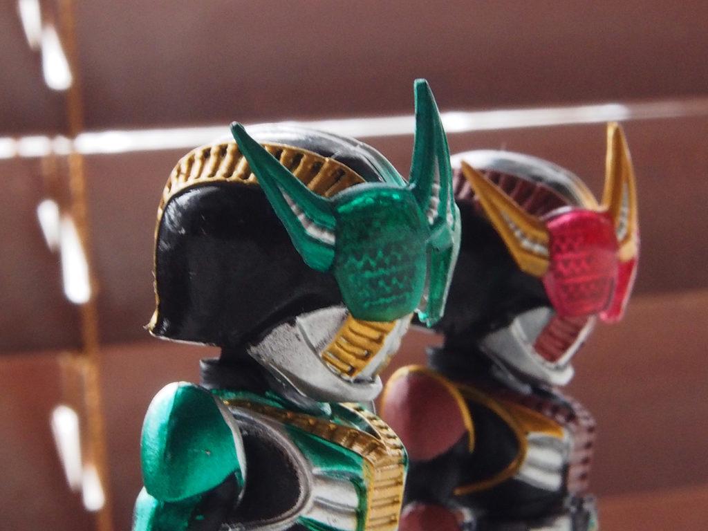ゼロノス、緑と赤