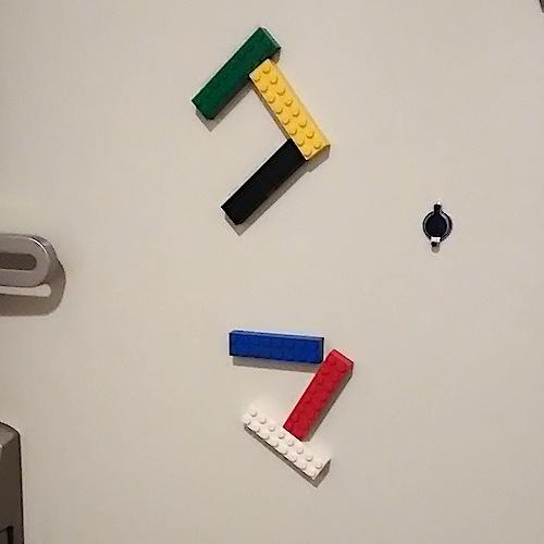 玄関レゴ、「クマ」