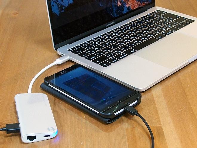 USBテザリング、sierraで