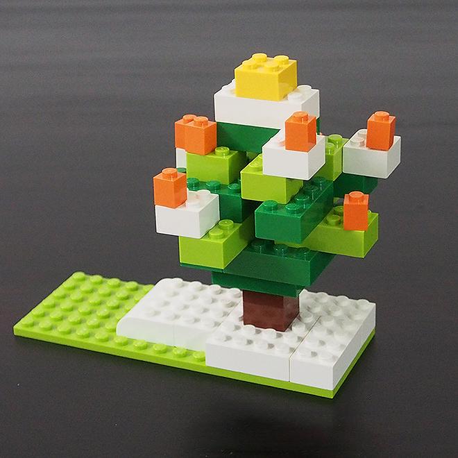 クリスマスツリー、レゴ