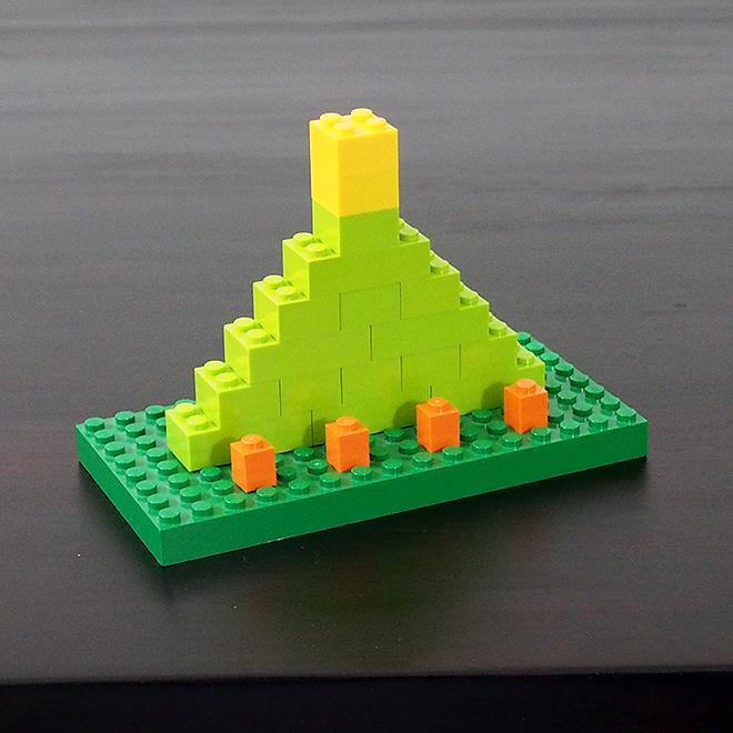 クリスマスツリー2、レゴ