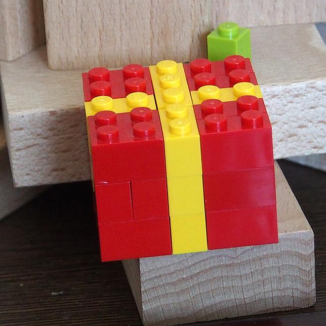 レゴ、プレゼントの箱