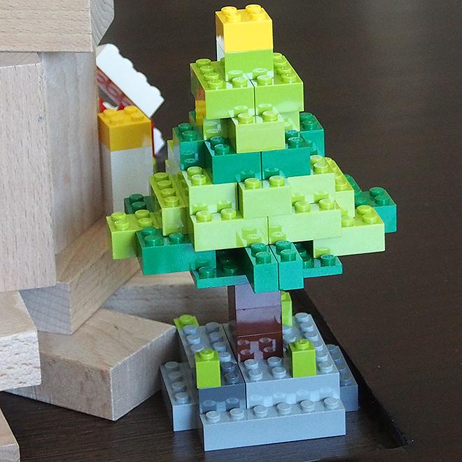 レゴ、クリスマスツリー