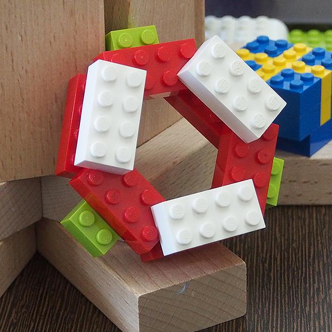 レゴ、オーナメント、赤白