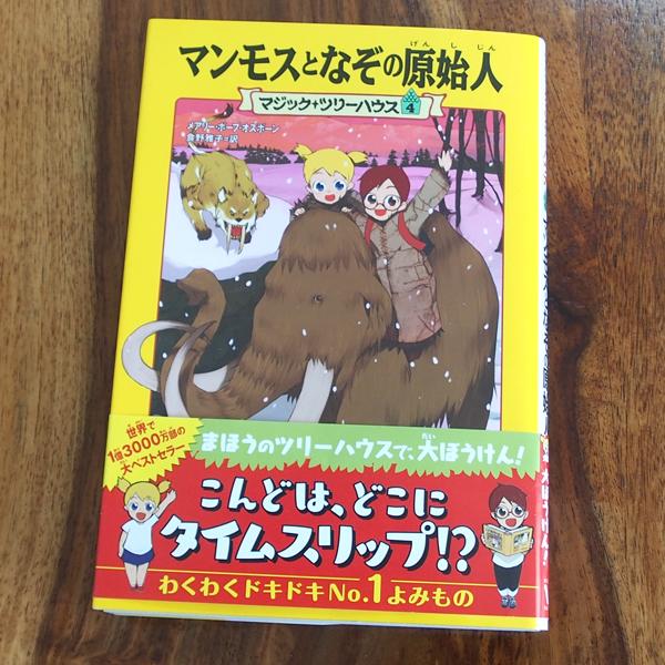 マジックツリーハウスマジックツリーハウス4、表紙