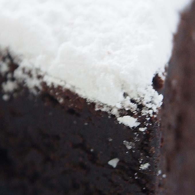 程よい甘さのケーキ