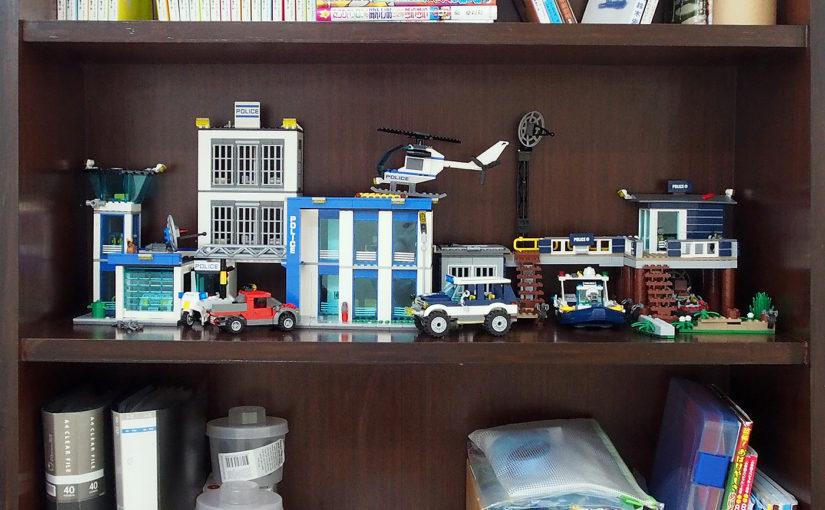 飾りっぱなしに!組み立てたLEGOの置き場所ー本棚