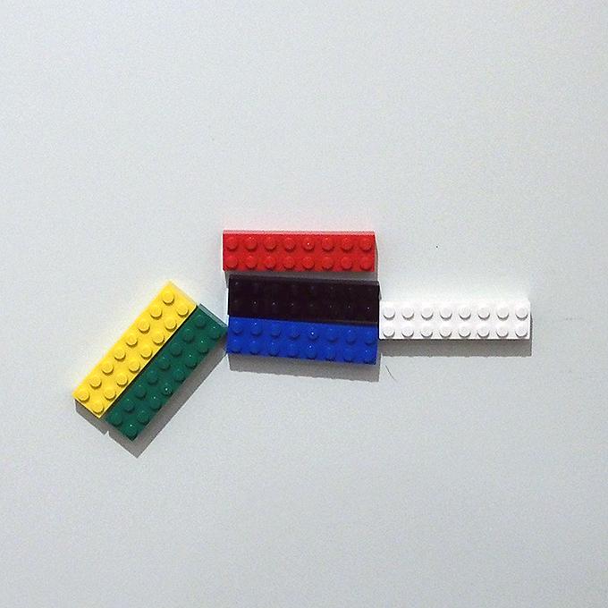 玄関レゴ、マグネット、ピストル