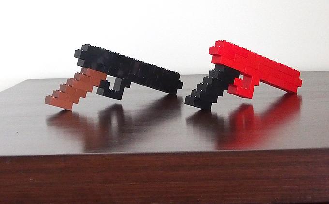 レゴ、銃2丁