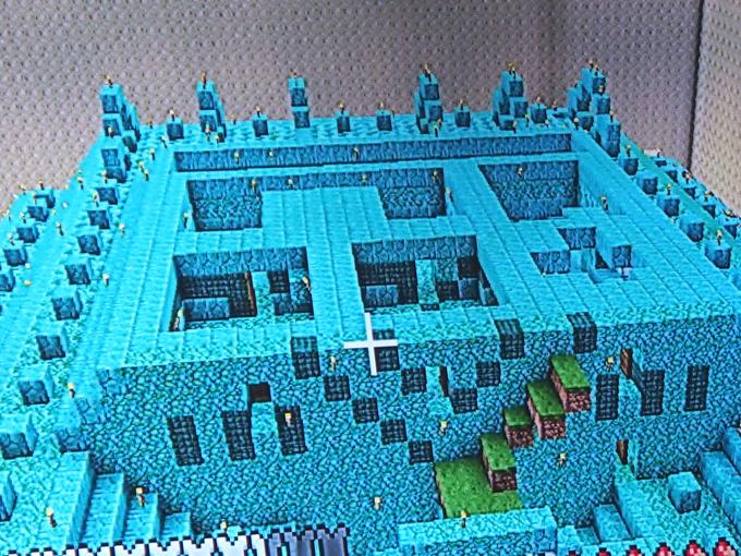 海底神殿、最上階、気になるところ