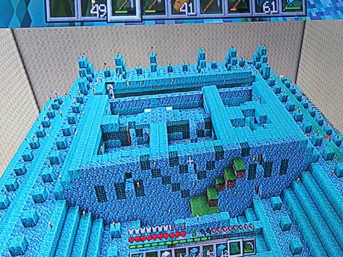 海底神殿、3階