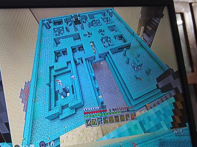 海底神殿、1階