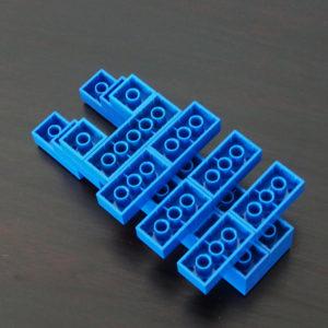 レゴ、クワガタ、裏
