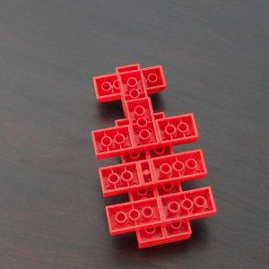 レゴ、カブトムシ、裏
