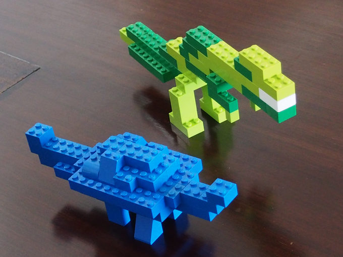 ティラノサウルス、アンキロサウルス