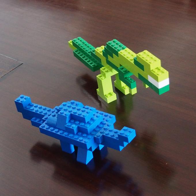ティラノ、アンキロサウルス