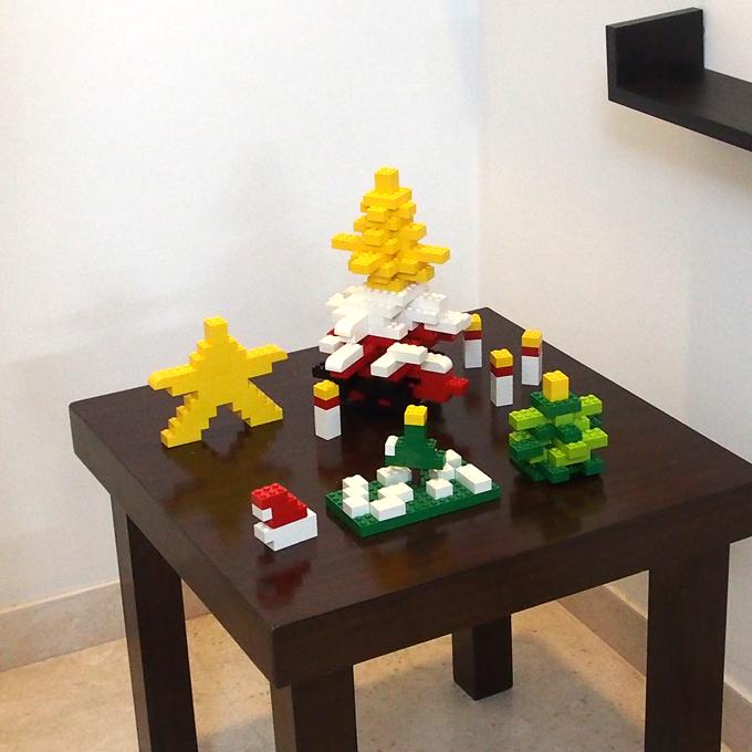 レゴのクリスマス飾り2018