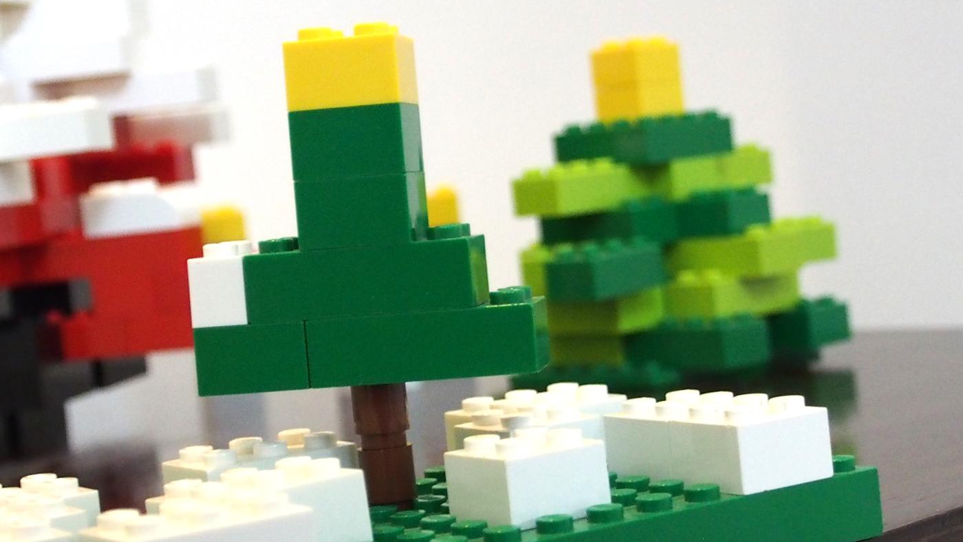 レゴのクリスマス飾り