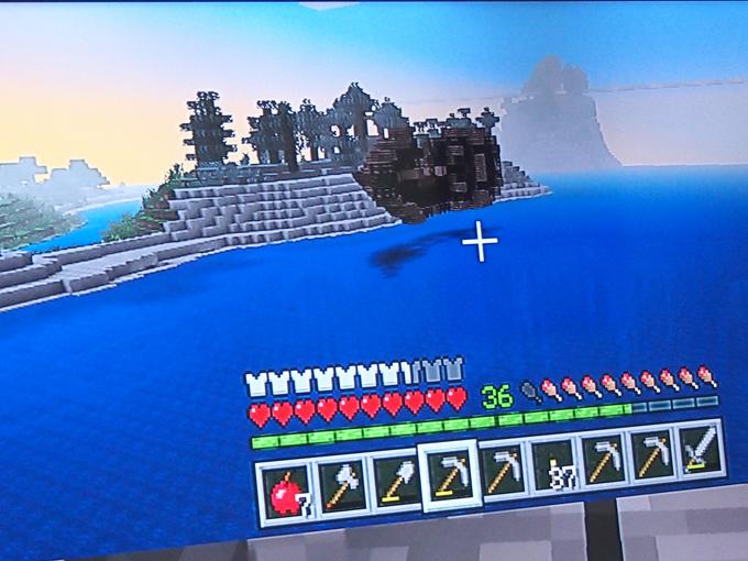 空に浮いた沈没船2
