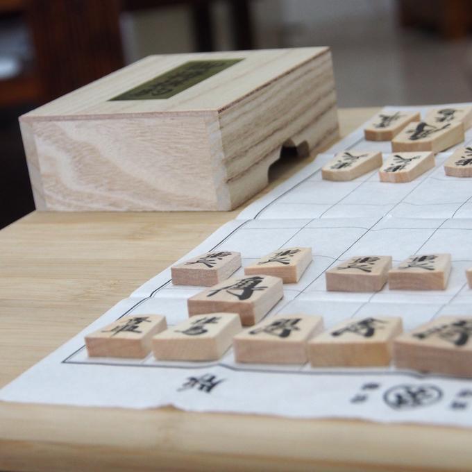 インドで将棋、紙の上で