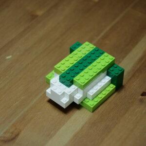柏餅、レゴ